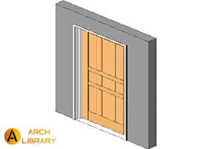 Door_K3190-Square_Karona.rfa