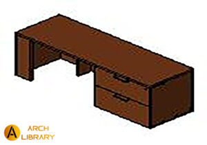 KO_Priority_Credenza_Lateral-File-on-Right_53K----CRF.rfa